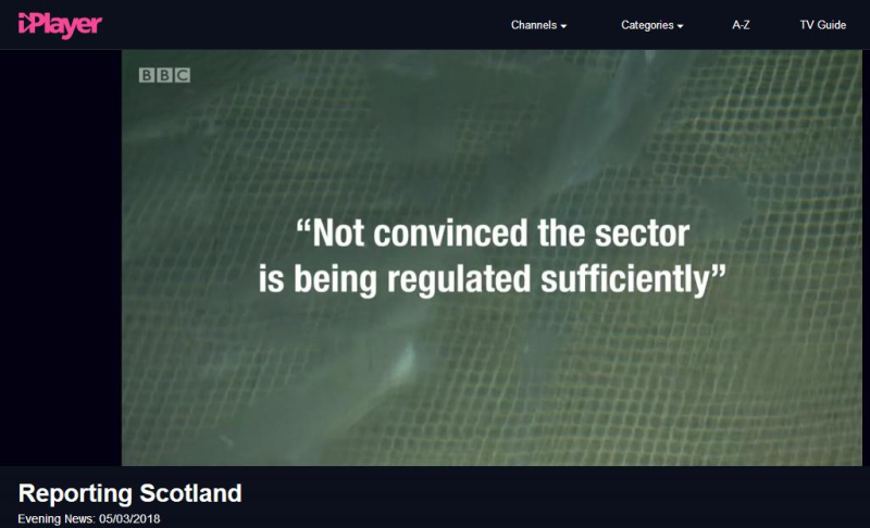 BBC News 5 March 2018 Reporting Scotland Not Regulated