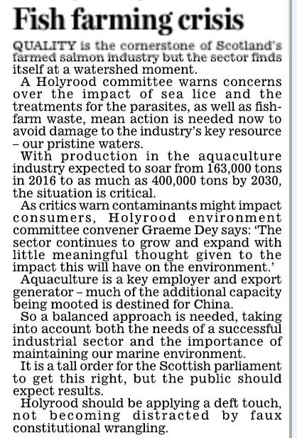 Daily Mail 6 March 2018 Editorial