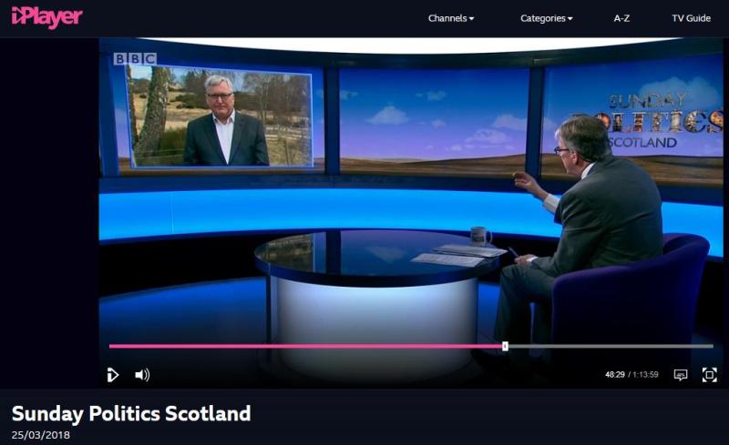 BBC Sunday Politics Scotland #1