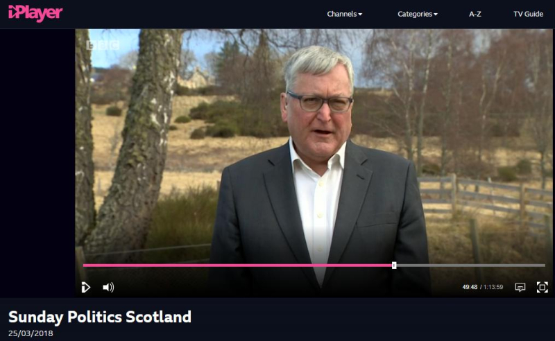 BBC Sunday Politics Scotland #2 Fergus