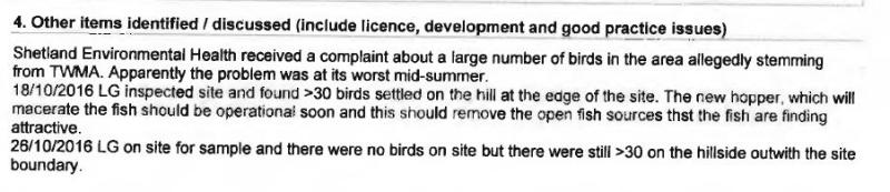 Shetland FOI documents SEPA compliance assessment #1