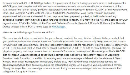 FDA Cermaq 2017 #2