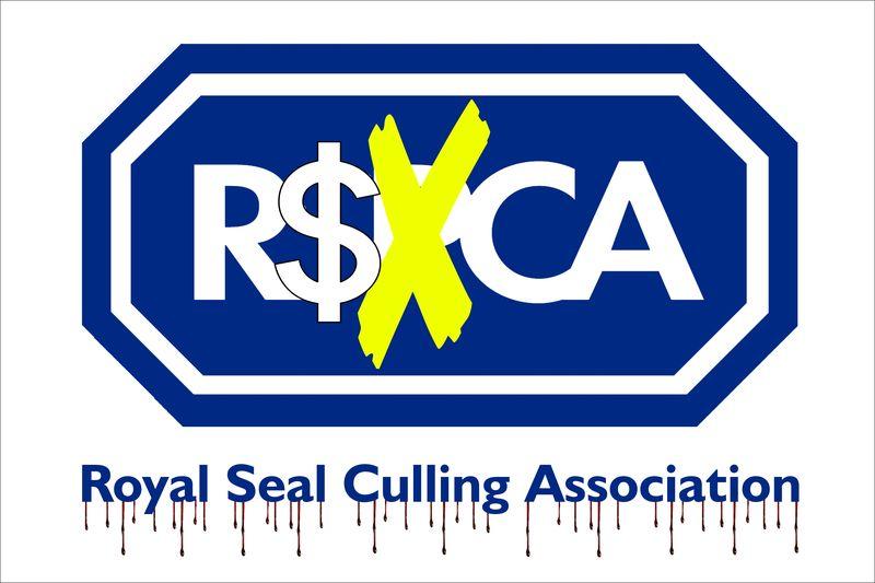 Sign #7 RSPCA Royal Seal Culling Association