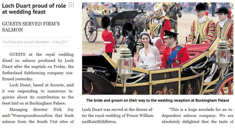 Royal blog #1 wedding story