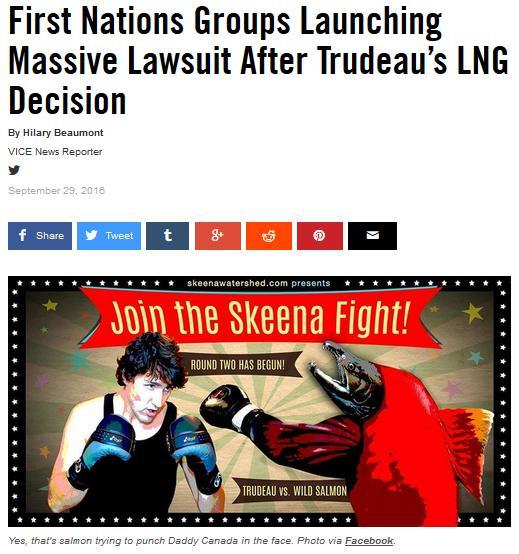 MH sues Trudeau  fight article cartoon