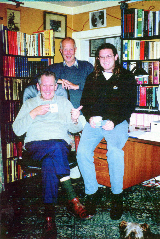 Bruce with Allan Berry & Don