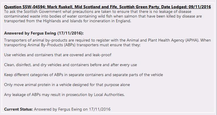 PQs from Mark Ruskell 8 Nov 2016 #1 replies 17 Nov