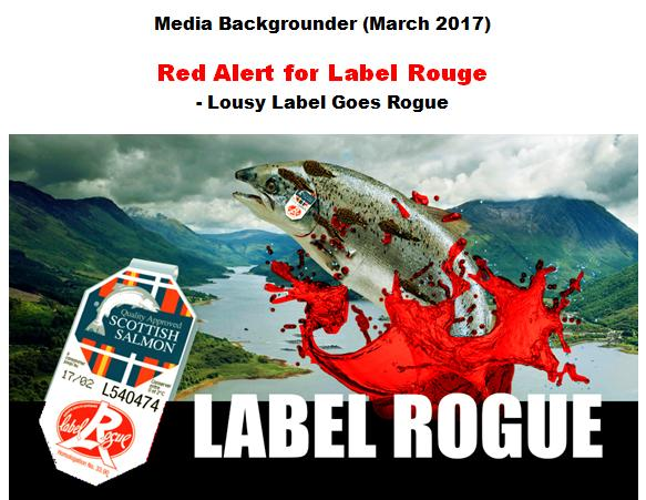Media Backgrounder Red Alert for Label Rouge March 2017 #1 title page