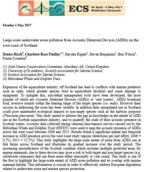 ECS paper abstract 1 May 2017