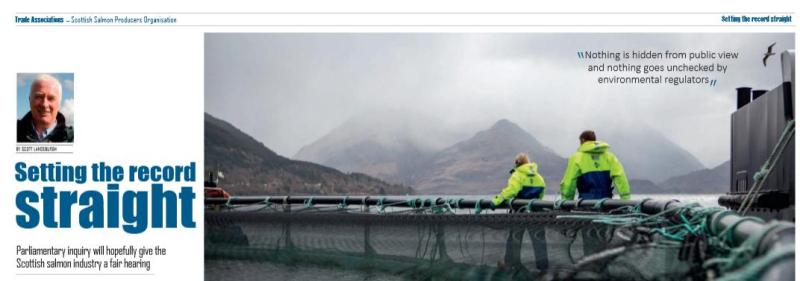Fish Farmer Jan 2018 setting record straight #1 top of article