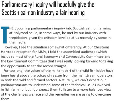 Fish Farmer Jan 2018 setting record straight #2