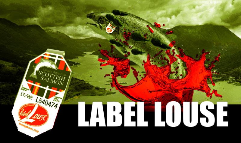 #4 Label Louse landscape