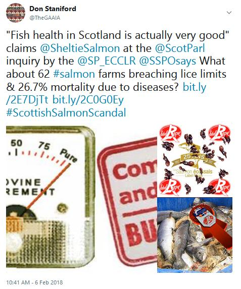Tweet SP #( BS fish health