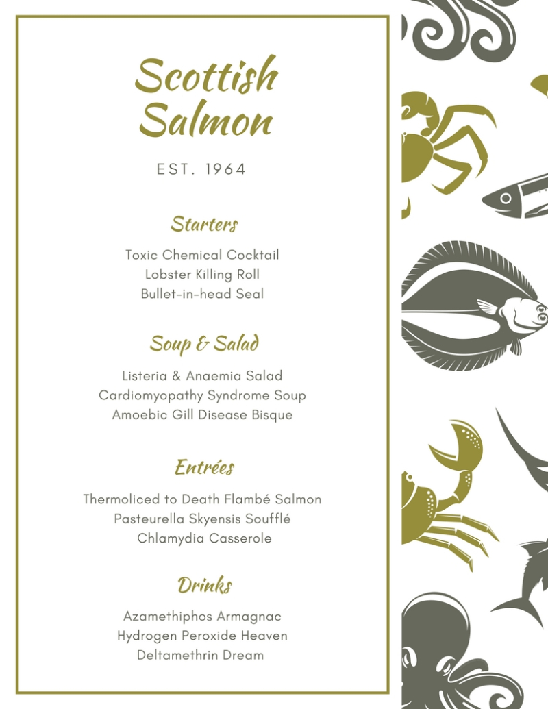 Menu #8 Seafood