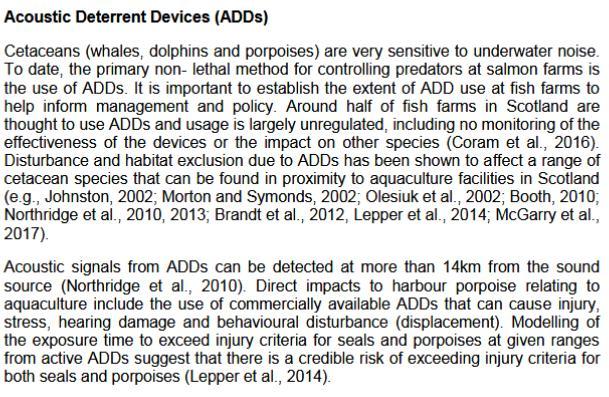 Sp written evidence WDCS #1