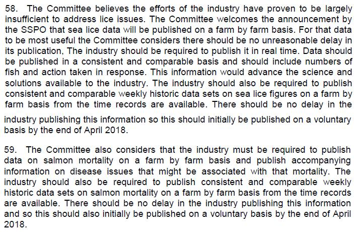 SP ECCLR Inquiry report 5 March 2018 Views of the Committee #2