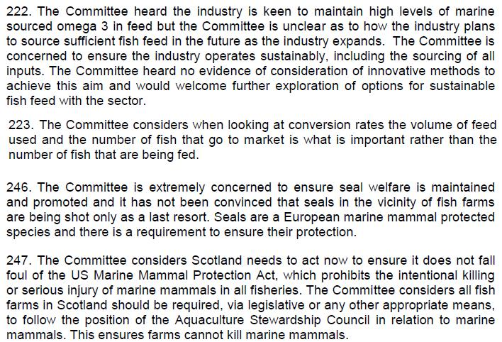 SP ECCLR Inquiry report 5 March 2018 Views of the Committee #12