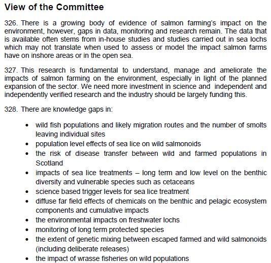 SP ECCLR Inquiry report 5 March 2018 Views of the Committee #21