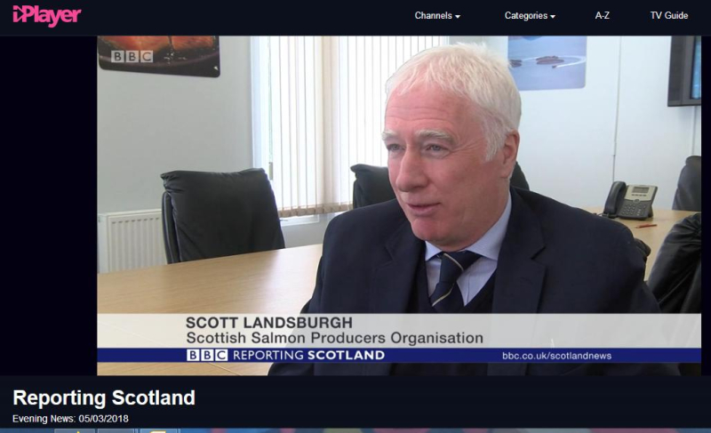 BBC News 5 March 2018 Reporting Scotland SSPO