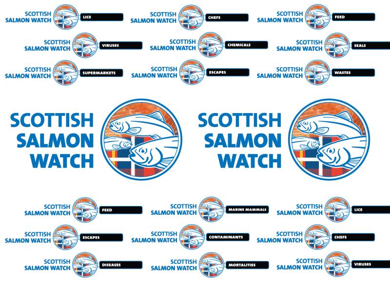 Logos in medium backdrop