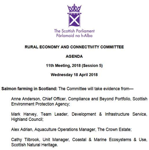SP RECC 18 April 2018 Agenda