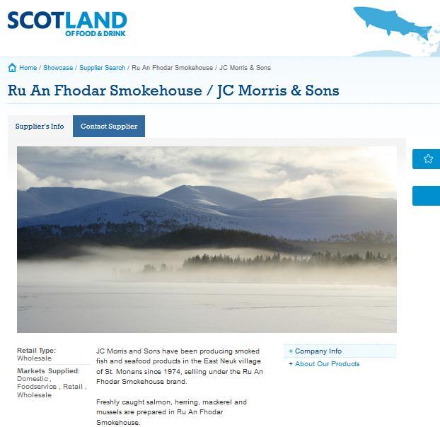 Ru An Fhodar Smokehouse on Scotland Food & Drink #1