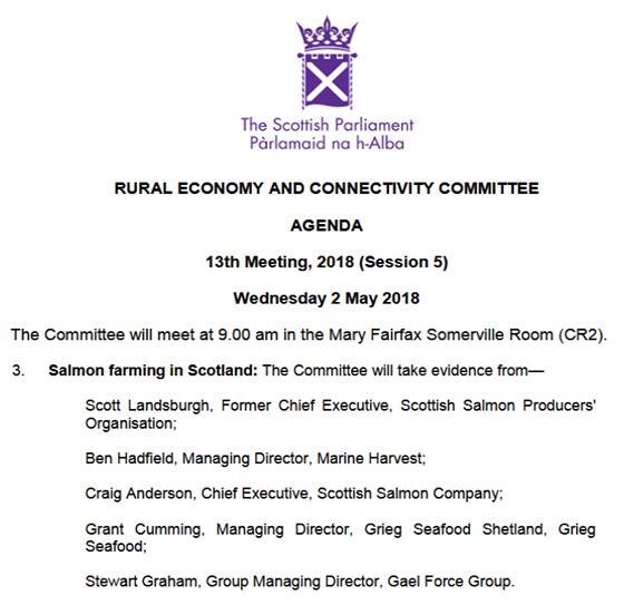 SP RECC 2 May 2018 Agenda