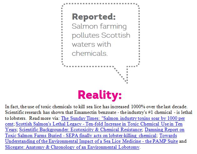 Reported Vs Reality Rebuttal by Scottish Salmon Watch 18 May 2018 #6