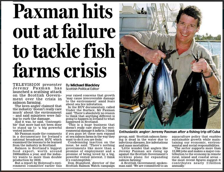 Daily Mail 21 May 2018 Paxman hit out Newspaper version in full