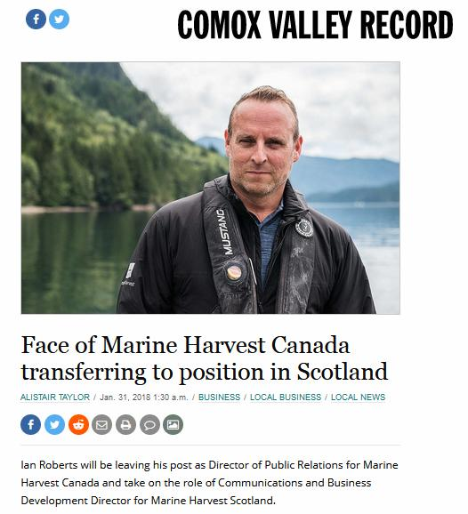Comox Valley Record on Ian