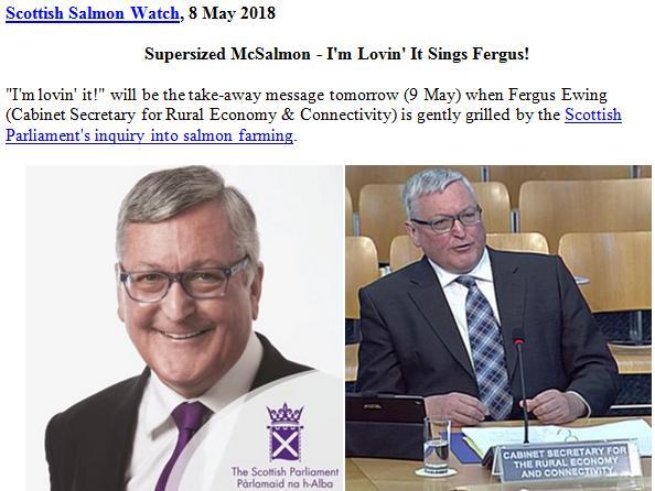 Supersized McSalmon - I'm Lovin' It Sings Fergus 8 May 2018 #1