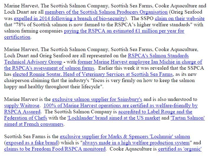 PR Exposed - Gruesome Photos of Deformed & Diseased Scottish Salmon 28 June 2018 #10 SSPCA correction