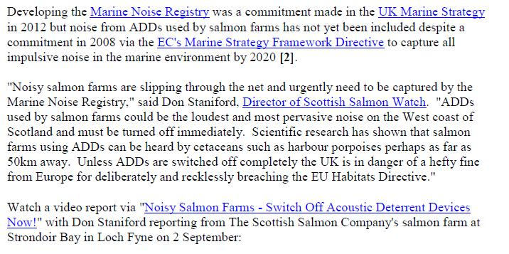 PR Sounding Off - ADDs evade Marine Noise Registry 10 Sept 2018 #3