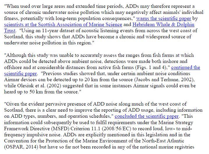 PR Sounding Off - ADDs evade Marine Noise Registry 10 Sept 2018 #6