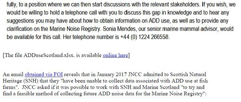PR Sounding Off - ADDs evade Marine Noise Registry 10 Sept 2018 #8