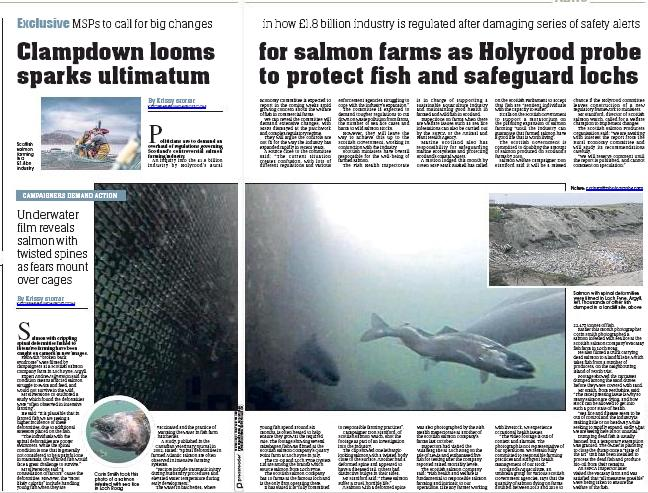 Sunday Post 30 September 2018 double page