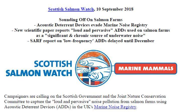 PR Sounding Off - ADDs evade Marine Noise Registry 10 Sept 2018 #1