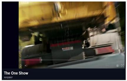 BBC One show truck leaking