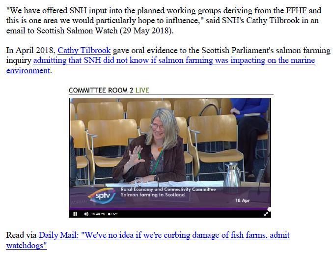 Media Advisory Sounding Off About Scotland's Noisy Salmon Farms 11 June 2018 #6