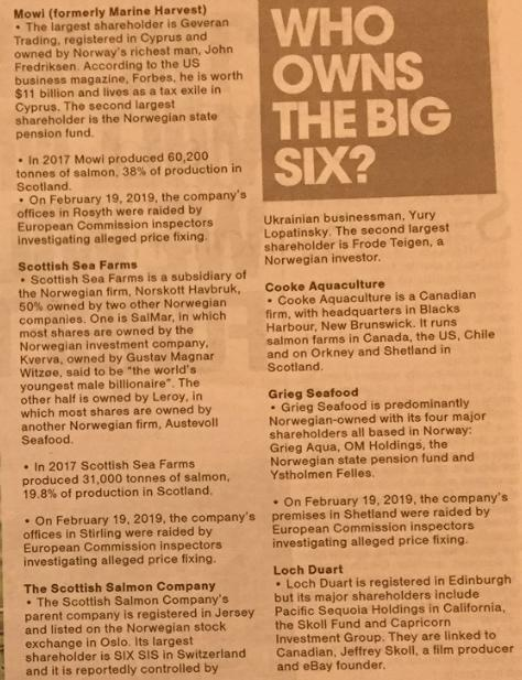 National On Sunday #5 Who Owns the Big Six
