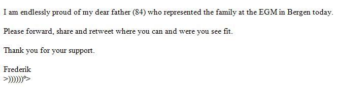 Mowinckel email 4 Dec #2