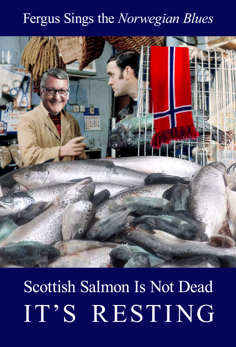 Fergus Monty Python spoof