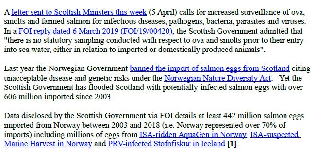 PR Easter Egg Ban for Scottish Salmon 7 April 2019 #2
