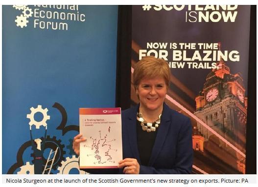 Nicole Sturgeon exports June 2019