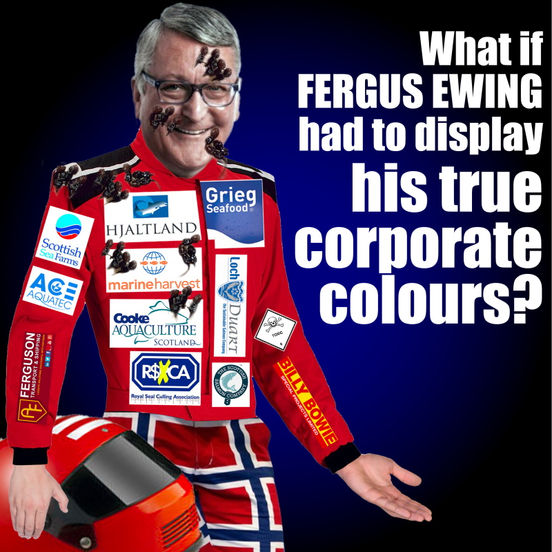 Fergus Ewing Racing Colours