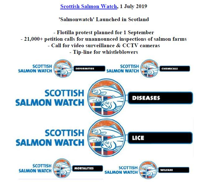 PR Salmonwatch Launched in Scotland 1 July 2019 #1