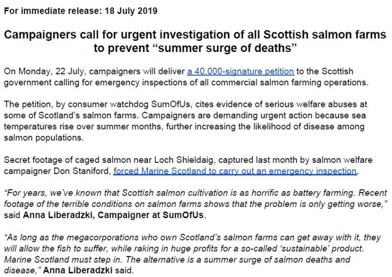 PR Salmon farm emergency investigations 18 July 2019 #1