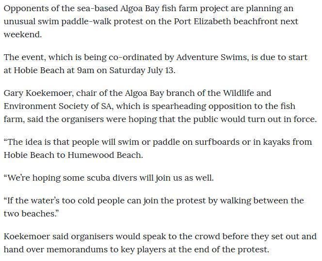 Swim against fish farm #3