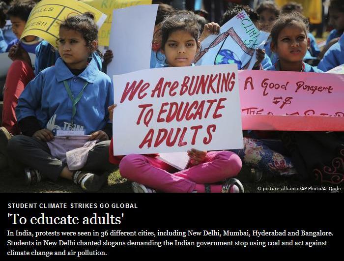 Cartoon bunking India