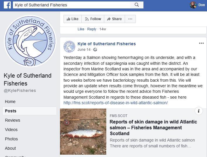 Kyle of Sutherland Fisheries Facebook June 2019